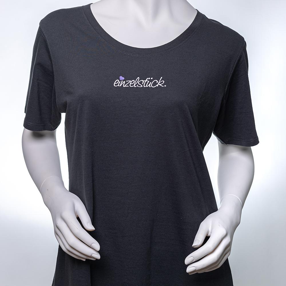 Frauen T-Shirt Schwarz / Einzelstück